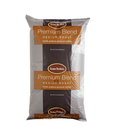 100% Arabica Medium Roast-Premium - 5 lb. Bag