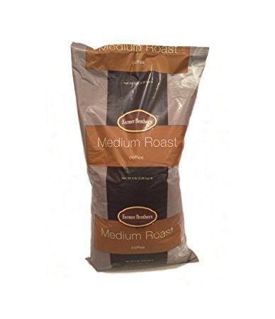 Farmer Brothers Medium Roast Whole Bean - 5 lb. Bag